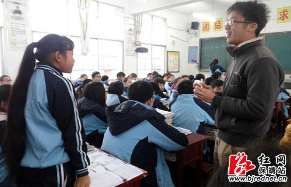 香港大学师生来到保靖雅丽中学考察交流图片