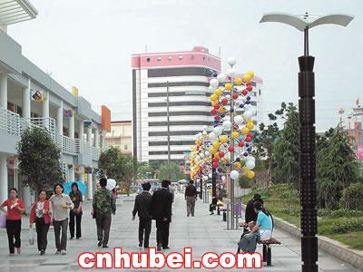仙桃市建起帖子步行街(图)情趣内衣文化图片