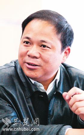 武汉市民政局局长和市民谈共建和谐883(图)