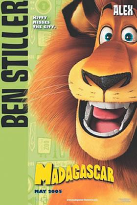 好莱坞暑期动画片 马达加斯加 首映