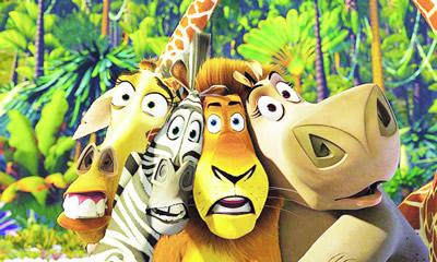 暑期档动画片《马达加斯加》动物逃亡搞笑不断