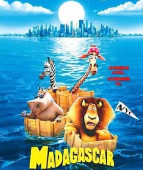 动画片 马达加斯加