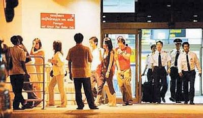 8日凌晨秘密入住泰国普吉岛五星级酒店banyantree