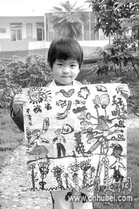 小学生画画说环保(图)