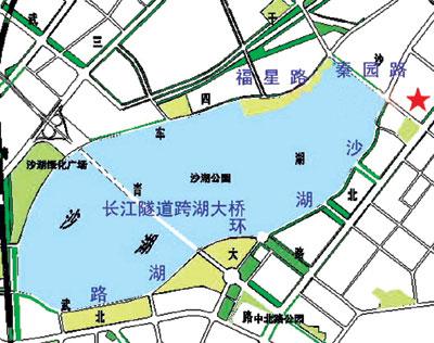 宁夏沙湖景区地图