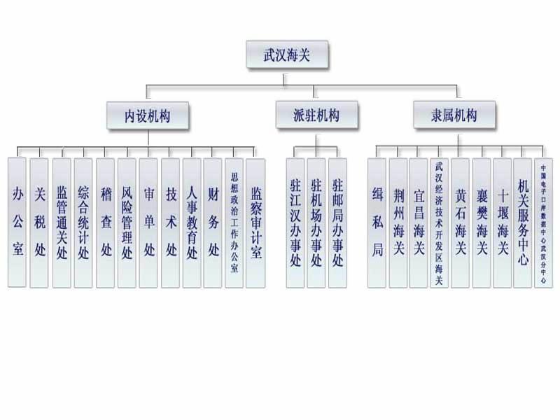 武汉海关组织机构(图)