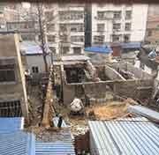 襄州区张湾街道办事处有人占用集体土地违建
