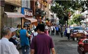 请还神农架木鱼镇市民一个通畅的人行道