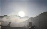 十堰市郧西县涧池乡集镇焚烧垃圾,污染环境