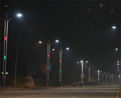巴东城区能否换成LED路灯