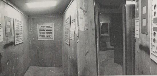 洪山区一小区物业私自投放电梯广告