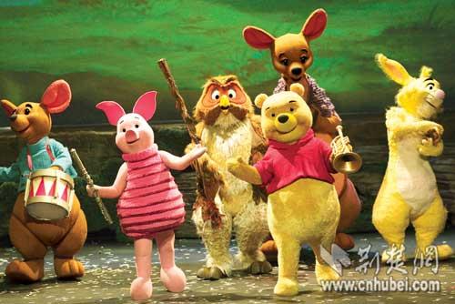 迪士尼舞台剧《小熊维尼》9月下旬在汉上演
