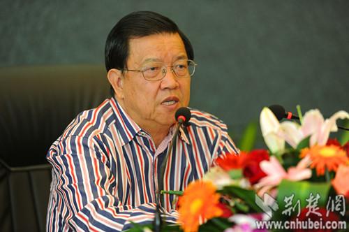 第四届武汉总部经济论坛开讲 龙永图纵论民营经济