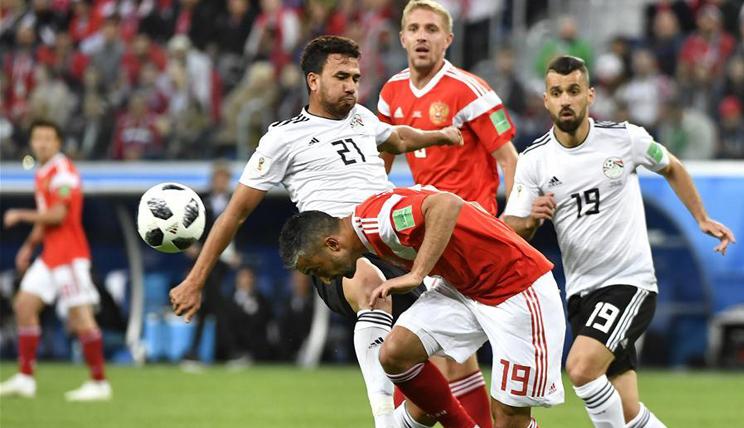 2018世界杯足球赛A组:俄罗斯队取得两连胜