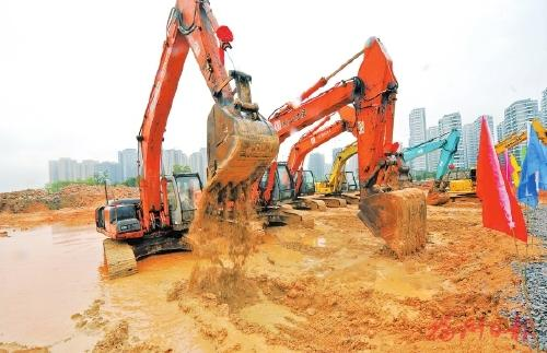 武汉33个重大项目集中开工 总投资1122亿元