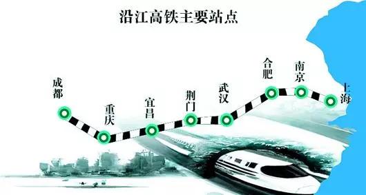 沿江高铁荆宜段武荆段有望于明年提前开工!
