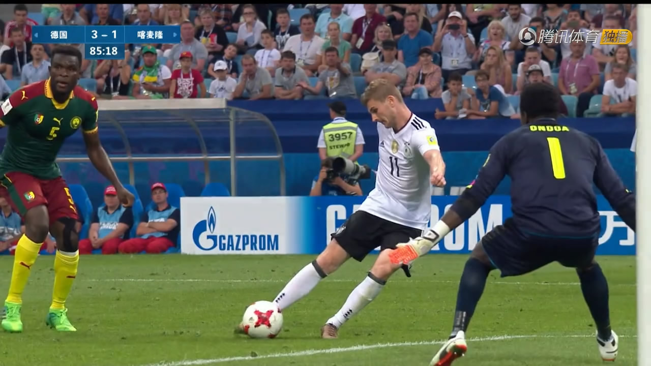 联合会杯:德国胜喀麦隆