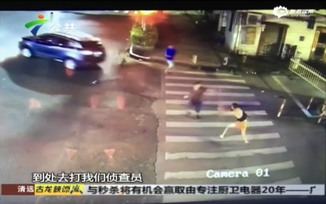 街头上演警匪大战