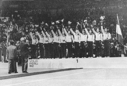 36年前的今天,中国女排首次获世界冠军!