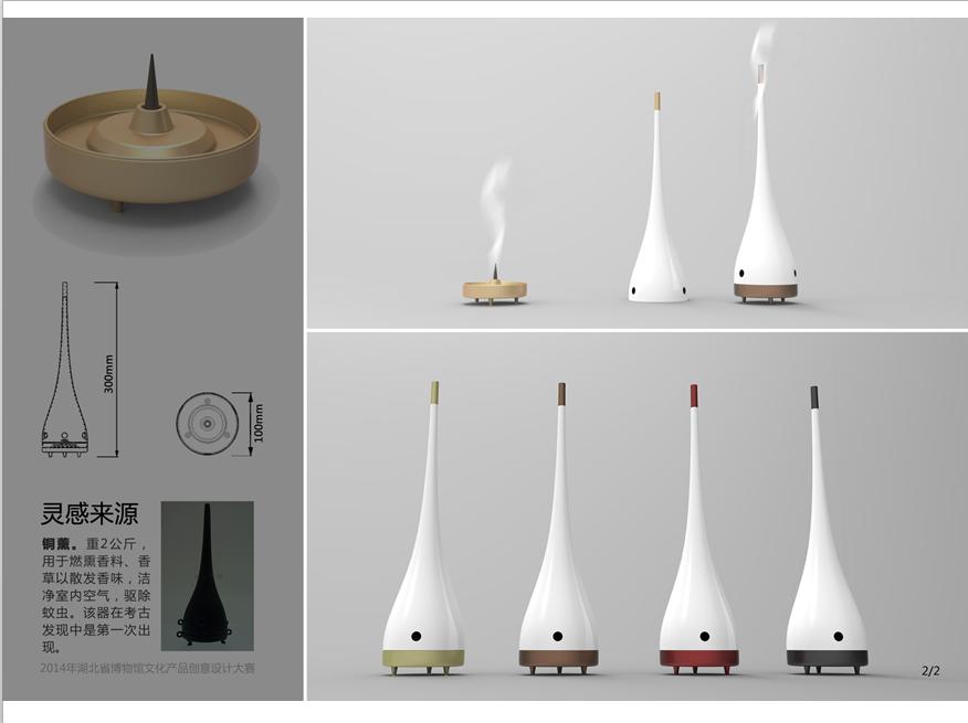 湖北省博物馆第二届文化产品创意大赛获奖作品揭晓 一等奖缺席图片
