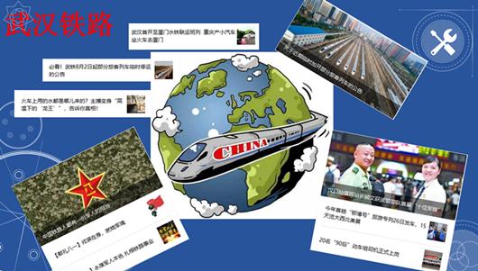 """湖北政务微信分析:奔驰在网络轨道上的""""武汉铁路"""""""