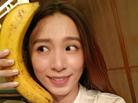 Hebe香蕉当电话俏皮自拍