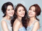 安以轩与闺蜜拍婚纱写真