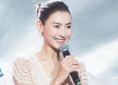 张柏芝中秋献唱 美回18岁