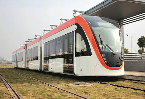 武汉首条有轨电车月底试运行 可换乘两条地铁