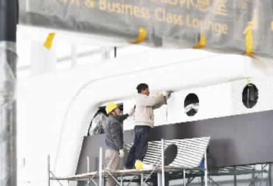 """近3万名建设者""""与时间赛跑"""" 天河机场T3航站楼3月底试运行"""