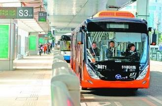 "BRT运营近一月无事故 武汉公交将打造成""地上铁"""