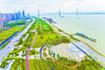 """青山江滩二期""""六一""""开放 绿化比例在武汉江滩中居首"""