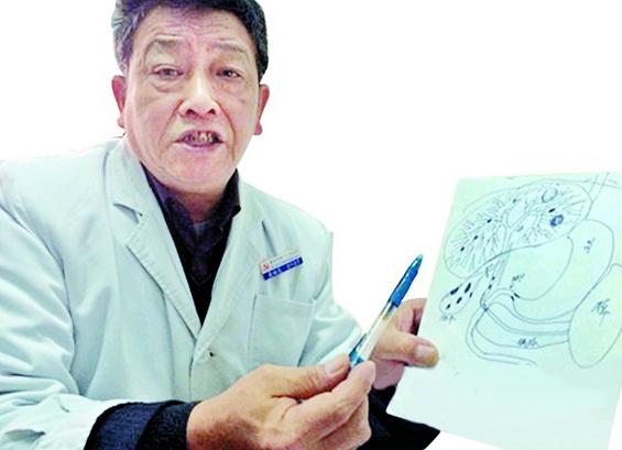 绘图说病42年 襄阳好医生为患者画图万余张