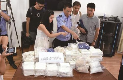 武汉截获98公斤过境毒品 创近年湖北警方一次缴获海洛因之最