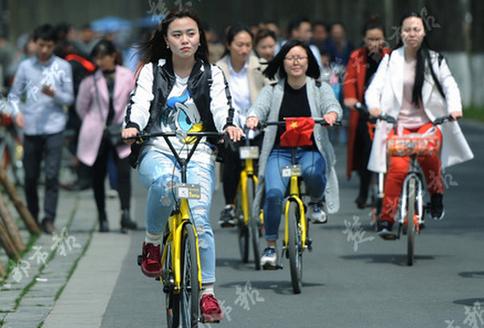 快讯!武汉宣布将建专用道供共享单车使用 部分区域禁停