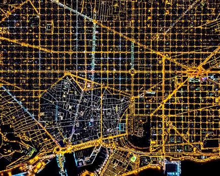 航拍全球十城绚烂夜景