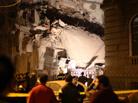 开罗塌楼事故至少9人伤