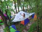 树上帐篷亮相长沙