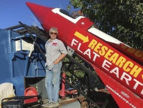 男子自造火箭欲上太空
