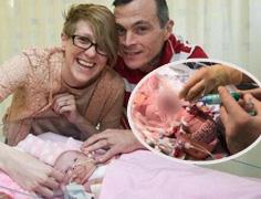 女婴心脏长体外奇迹存活