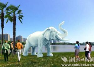"""东湖绿道二期沿线景观确定 """"东湖白象""""来了"""