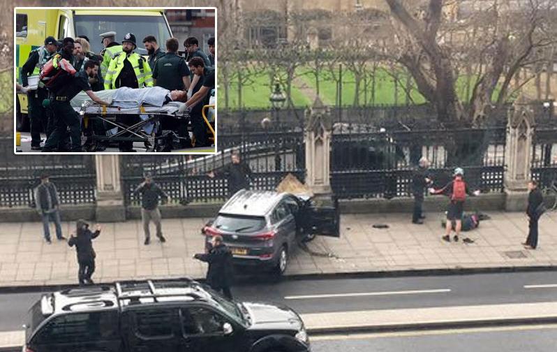 英国议会大厦外发生袭击