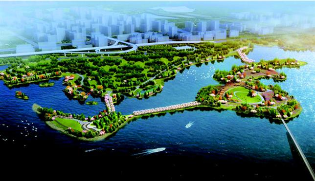 东湖绿道二期景观