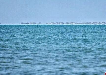 湖泊干涸60年后现碧波