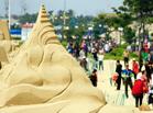 威海沙雕文化艺术节开幕