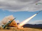 空军沙漠中导弹命中目标