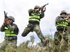 边防部门联合反恐演习