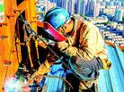 电焊工460米高空的坚守
