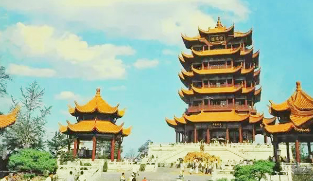 一组武汉30年前的老照片