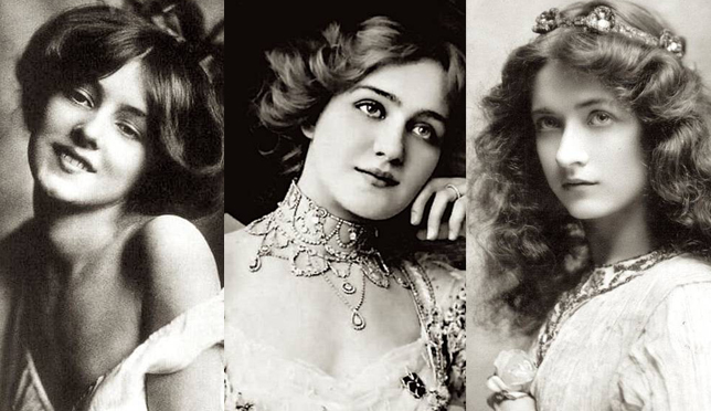 一百多年的美女标准
